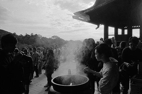 L'encens du Kiyomizu-dera