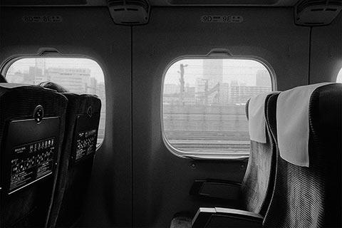 Dans le Shinkansen