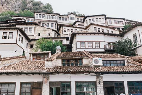 Architecture de Berat