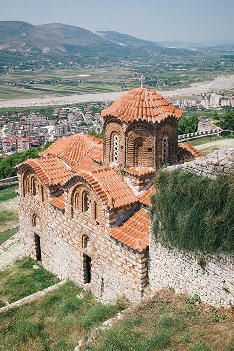 Dans la citadelle de Berat