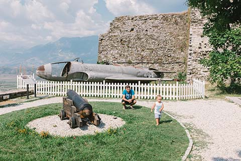 Dans la citadelle de Gjirokastër