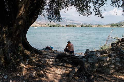 Le pêcheur de Butrint