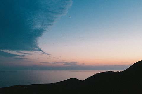 L'heure bleue à Himare