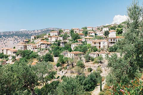 Le village de Qeparo