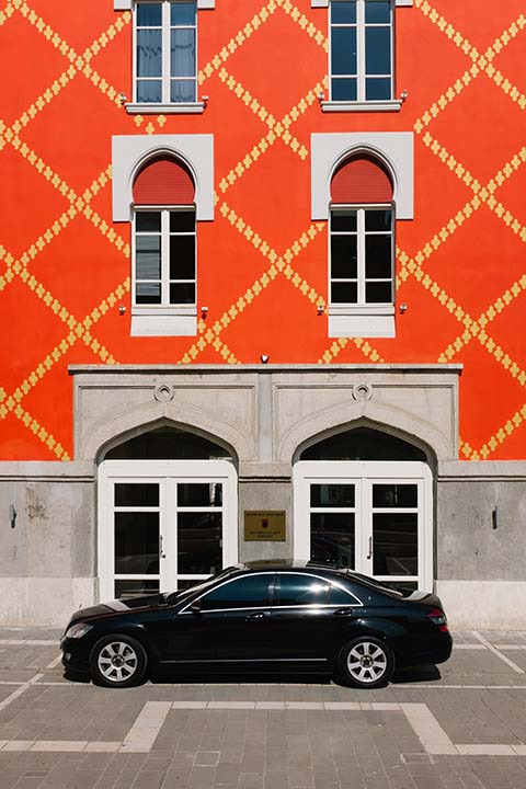 Architecture et Mercedes