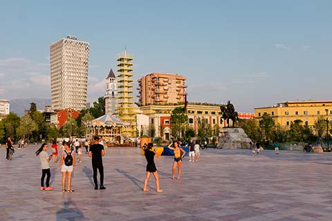 Place Skanderbeg