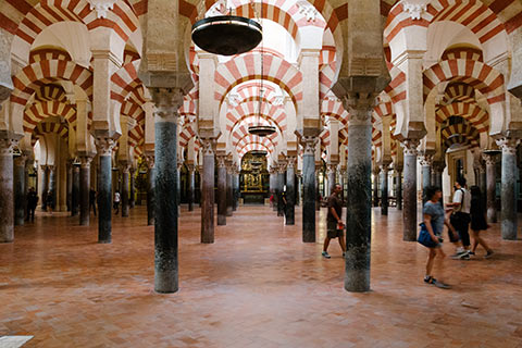 Dans la Mezquita