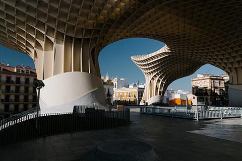 La canopée de Séville