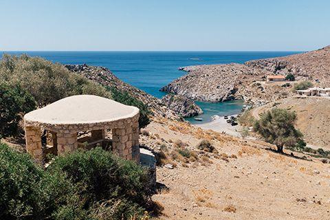 Au sud de la Crète