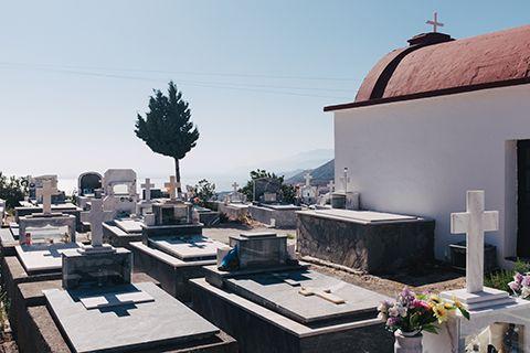 Un autre cimetière de Crète