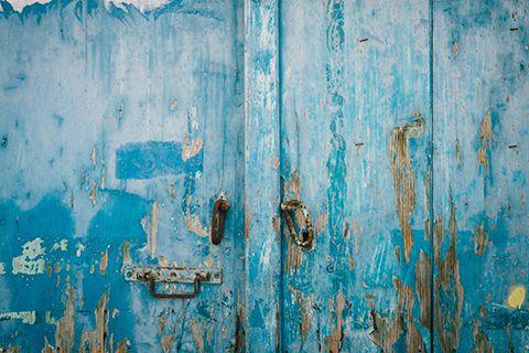 Le bleu de Grèce