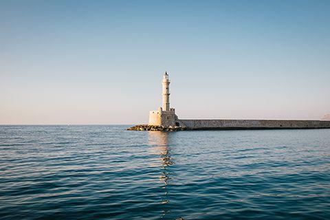 Le phare de la Canée