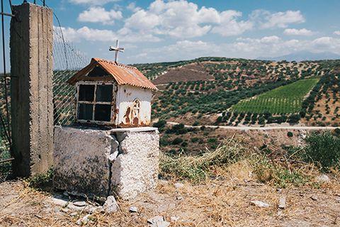 Sur les routes de Crète