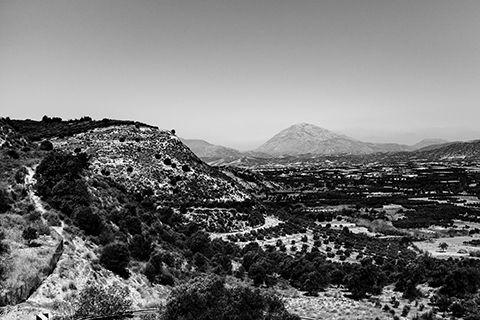 Un paysage Crètois