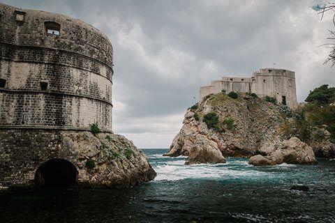 Les fortifications de Dubrovnik