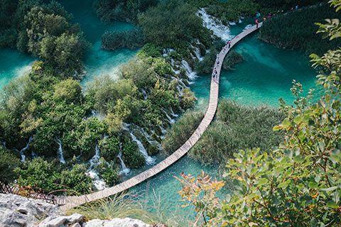 Le parc de Plitvice