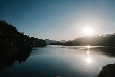 Coucher de soleil dans le Ring of Kerry