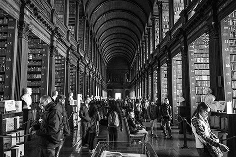 The Old Library à Dublin