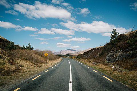 Sur la route du Connemara