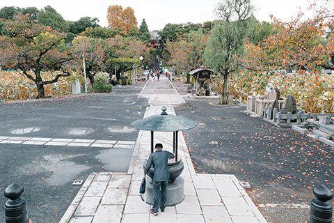 Dans le parc Ueno