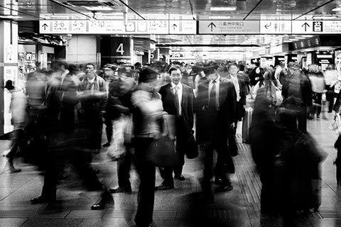 Photo prise à Tokyo Station