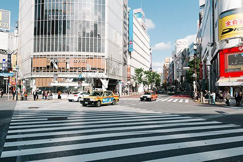 L'intersection de Shibuya
