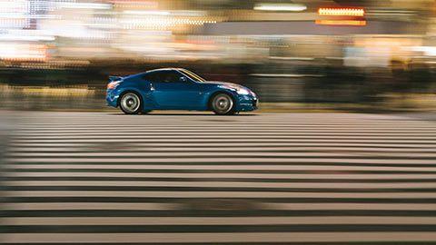 Nissan 370Z dans Shinjuku