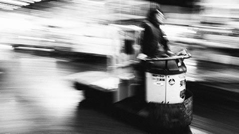 Photo prise au marché Tsukiji