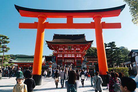 Le Torii de Fushimi Inari