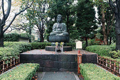 Statut de Bouddha du temple Sensō-ji