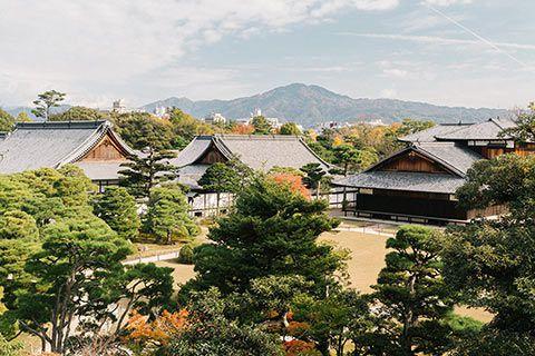 Kyoto depuis Nijo Castle