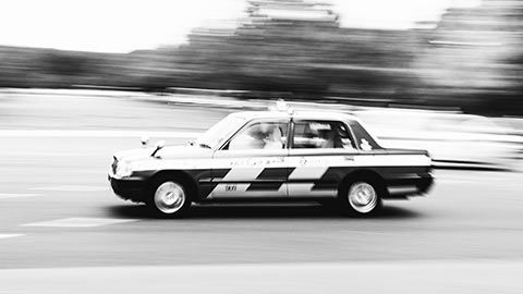 Un taxi Tokyoïte