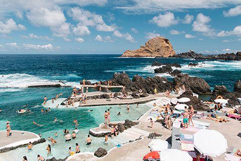 Les piscines naturelles de Porto Moniz