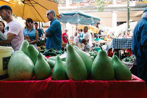 Sur le marché de Funchal