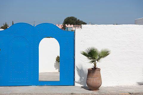 Dans le village d'Essaouira