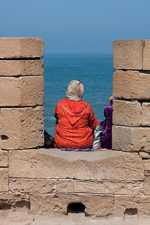 Sur les remparts d'Essaouira