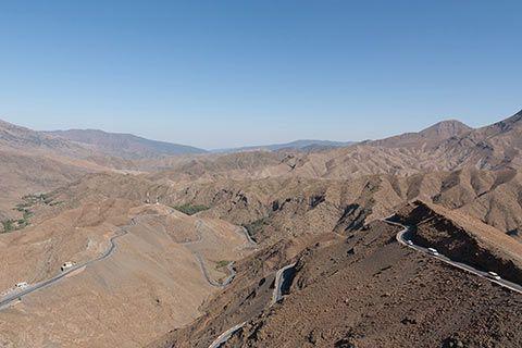 Paysage des hauteurs de l'Atlas