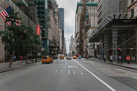 La Vème avenue de Manhattan