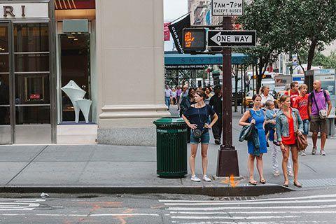 Photo de la Vème avenue à Manhattan