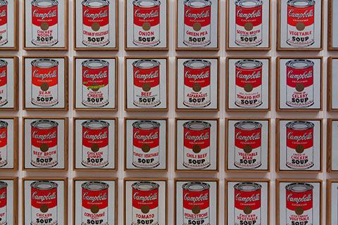 Ouevre d'Andy Warhol au MoMA