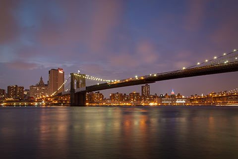 Photo de la baie de Manhattan
