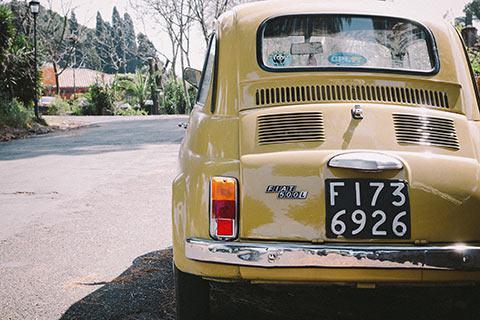 Un Fiat 500
