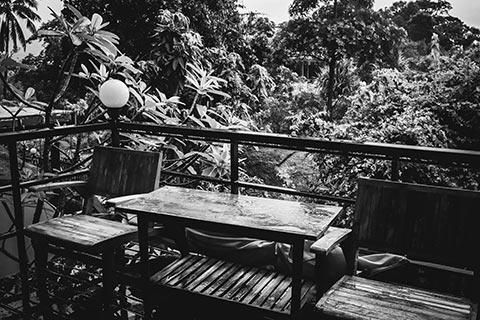 La mousson en Thaïlande
